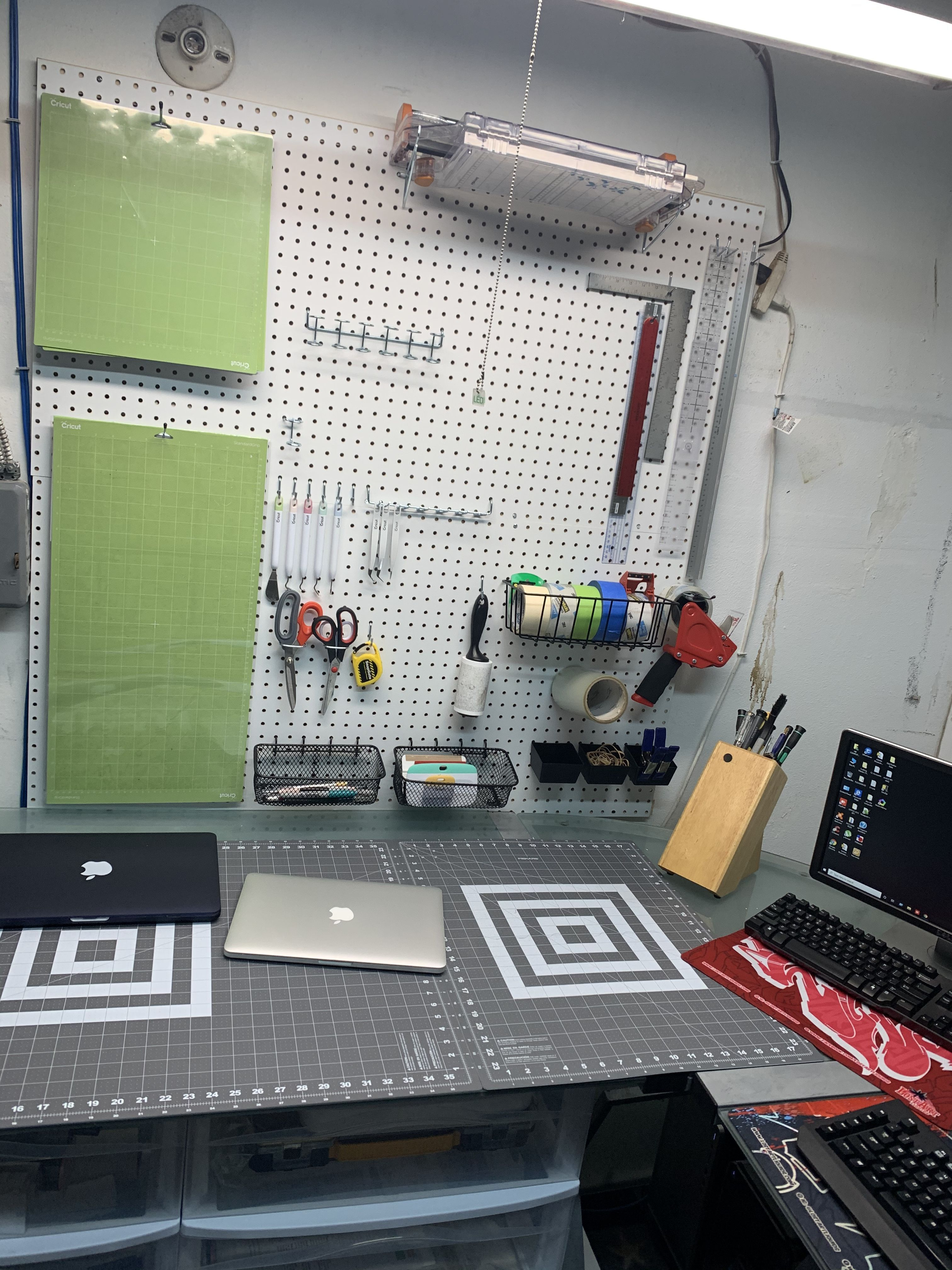 Pegboards From Home Depot Bought A Set Of Pegboar In 2020 With