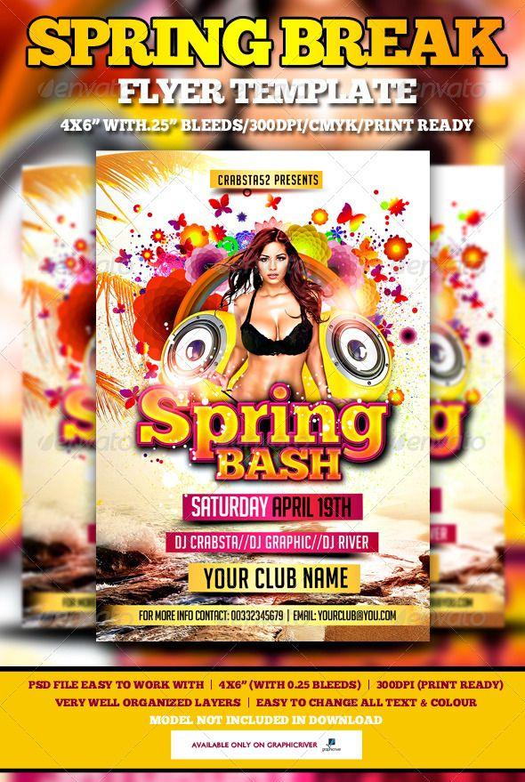 Spring Bash Flyer Template Spring, Flyer template and Template - spring flyer template