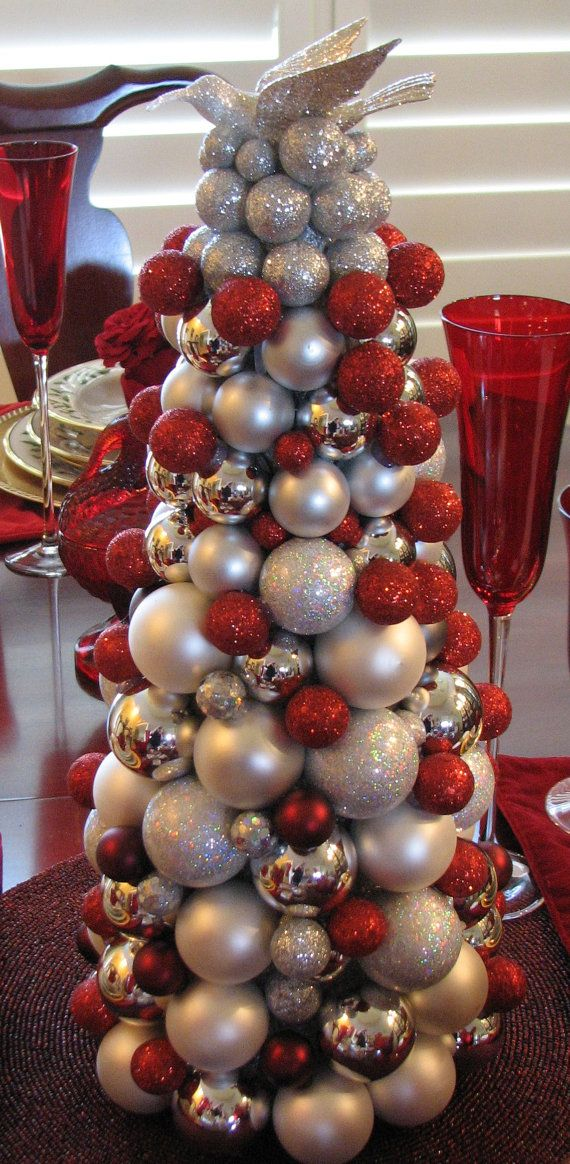 Gorgeous Glass Ball Small Mini Christmas By Celebrateanddecorate 95 50 Small Christmas Trees Small Xmas Tree Christmas Ornament Wreath
