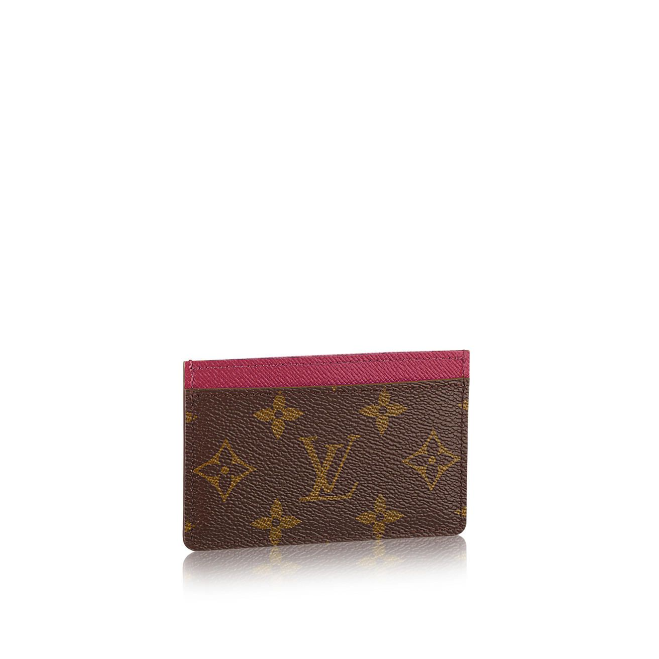 Monogram Canvas, Card Holder, Louis Vuitton