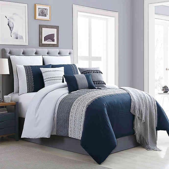 Hilden 10 Piece Comforter Set Bed Bath Beyond In 2020
