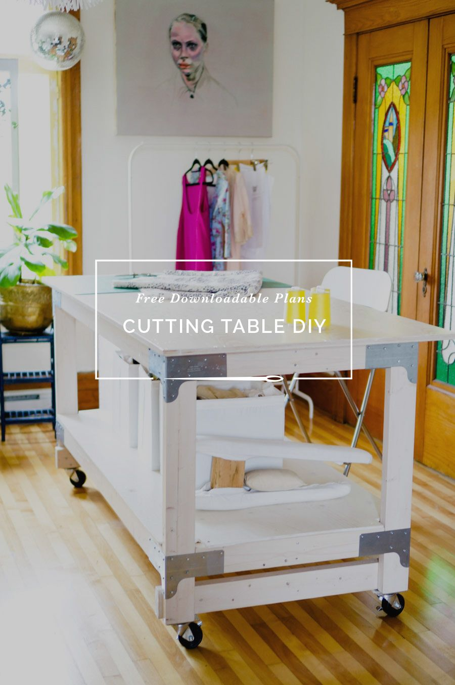 Photo of Sewing & Cutting Table DIY for Your Craft or Sewing Studio