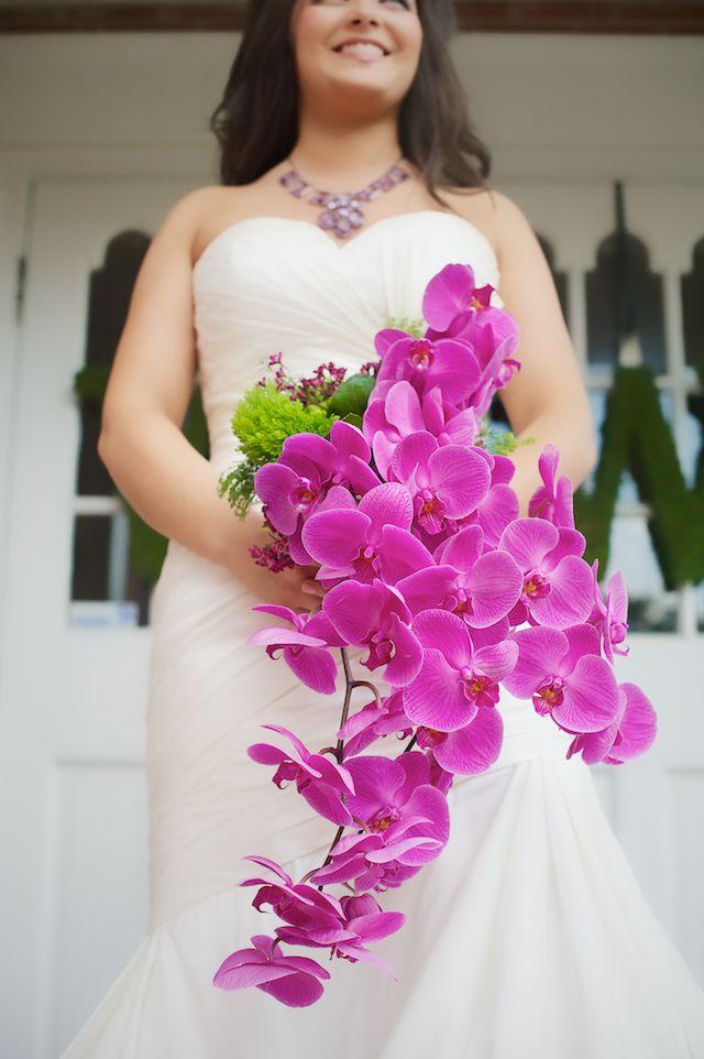 Ramo de Novia | Orquídea Phalaenopsis | Vestidos de XV años, Novias ...