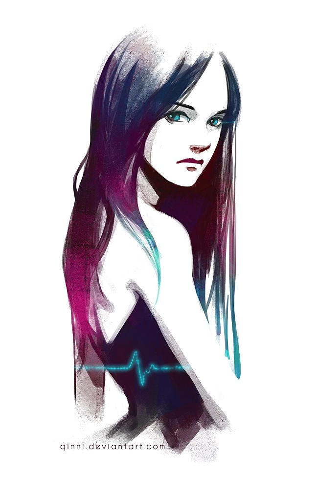 Heartbeat by Qinni on @deviantART