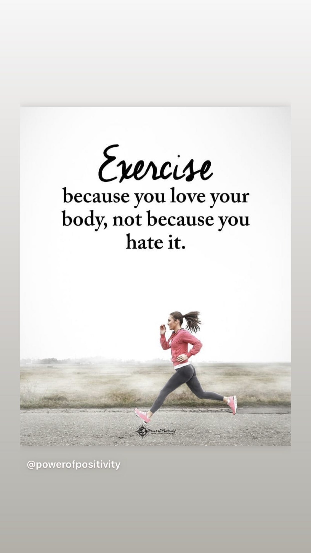 Keep pushing forward with your fitness goals. #goalsetting #fitness #health