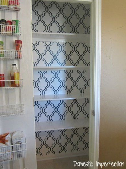Super Kitchen Pantry Closet Contact Paper Ideas - Super ...