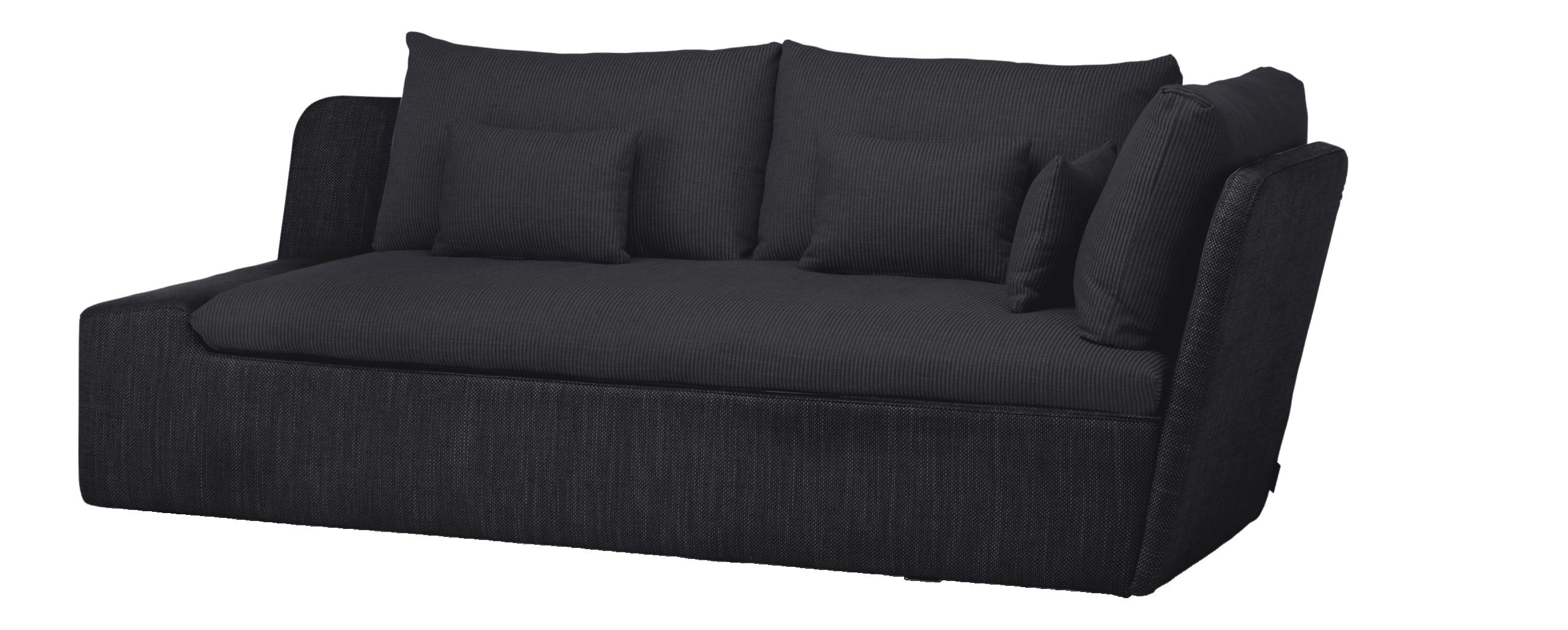 Canapé d angle Freeport convertible Textile gris clair