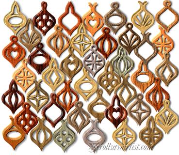 Printable 3D Christmas Ornaments | Compound cut (3D) ornaments #7 ...