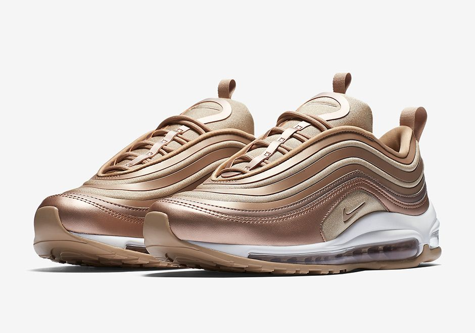 "quality design eef4c 5b66a  sneakers  news The Nike Air Max 97 Ultra ""Metallic Bronze"" To Release  Later This Fall"
