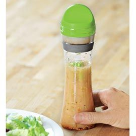 Salad Dressing bottle that measures out 2 tablespoons...great for counting calories!