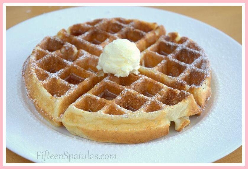 104 Reference Of Buttermilk Waffle Recipe Without Baking Powder In 2020 Waffle Recipes Crispy Waffle Waffle Iron Recipes