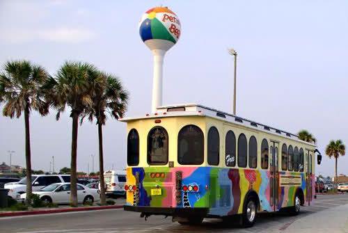 Seasonal Pensacola Beach Trolley Ecat