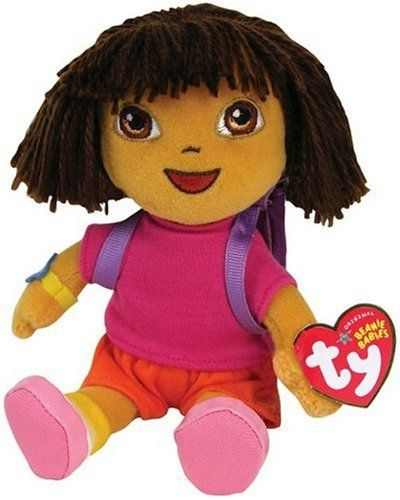 c06a03c8125 Ty Beanie Baby Dora the Explorer - Find Me The Cheapest Price    3.98