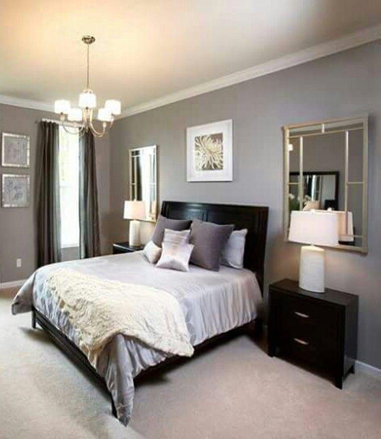 Pin By Gladys Paulino On Dormitorio Gray Master Bedroom Bedroom Wall Colors Master Bedrooms Decor