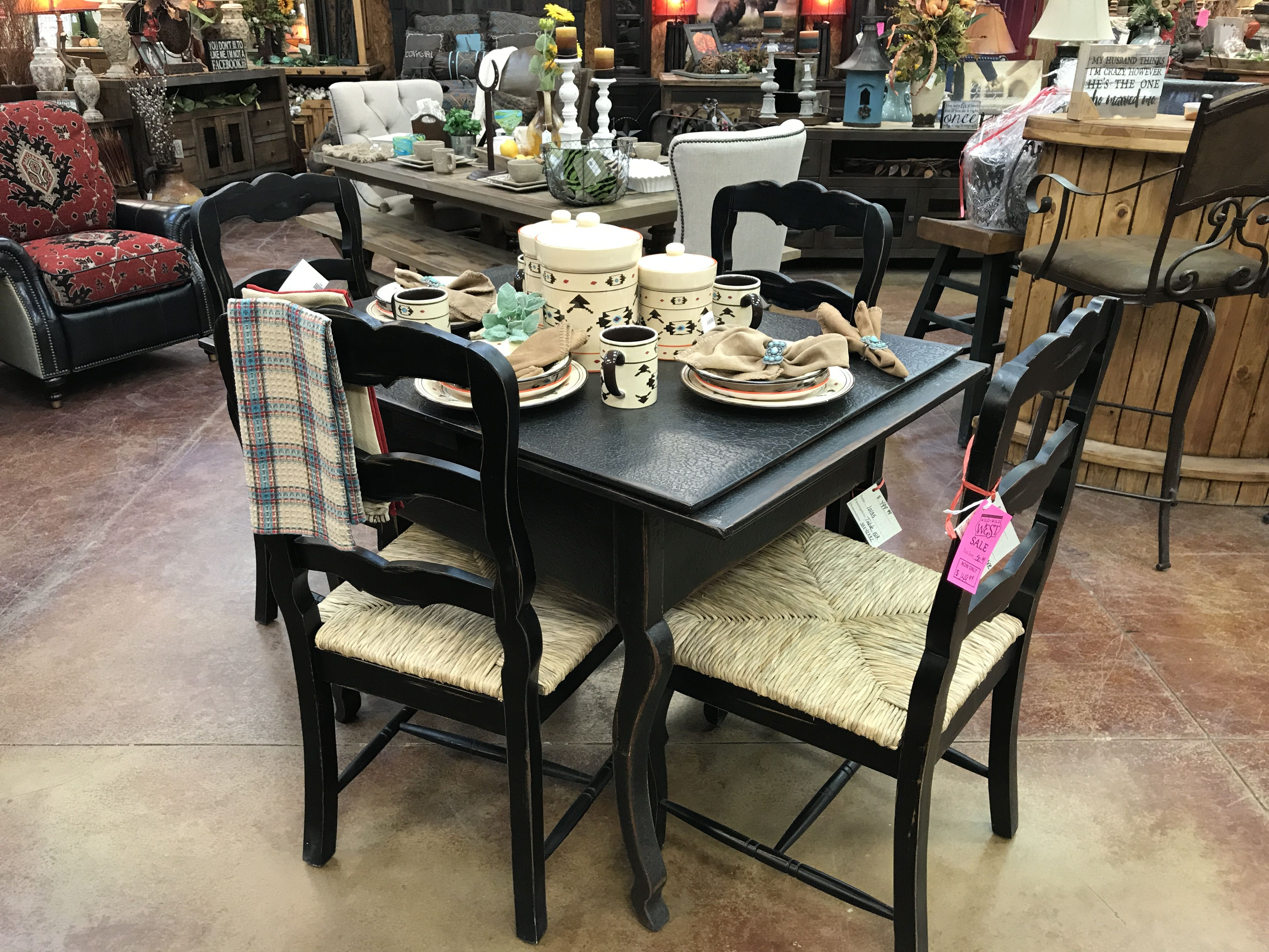 Pin By Wild Wild West Furniture And Decor On Dining Room Tables