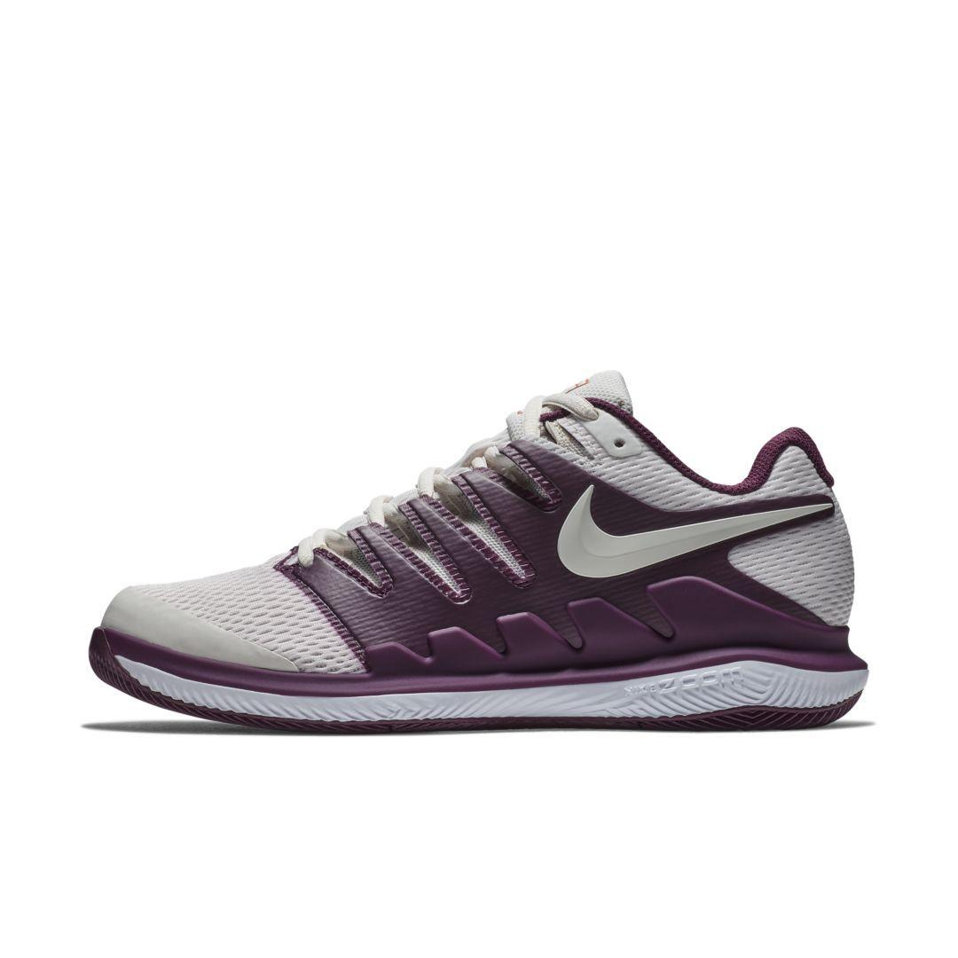 NikeCourt Air Zoom Vapor X Women s Hard Court Tennis Shoe Size 6.5  (Bordeaux) edba75083
