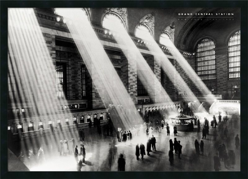 Grand Central Station Framed Photographic Print