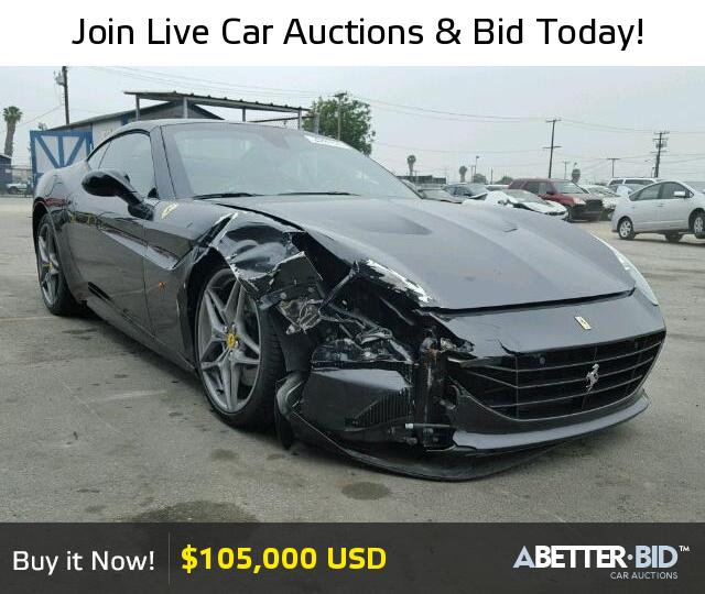 Wrecked Lamborghini For Sale: Salvage 2015 FERRARI ALL MODELS For Sale