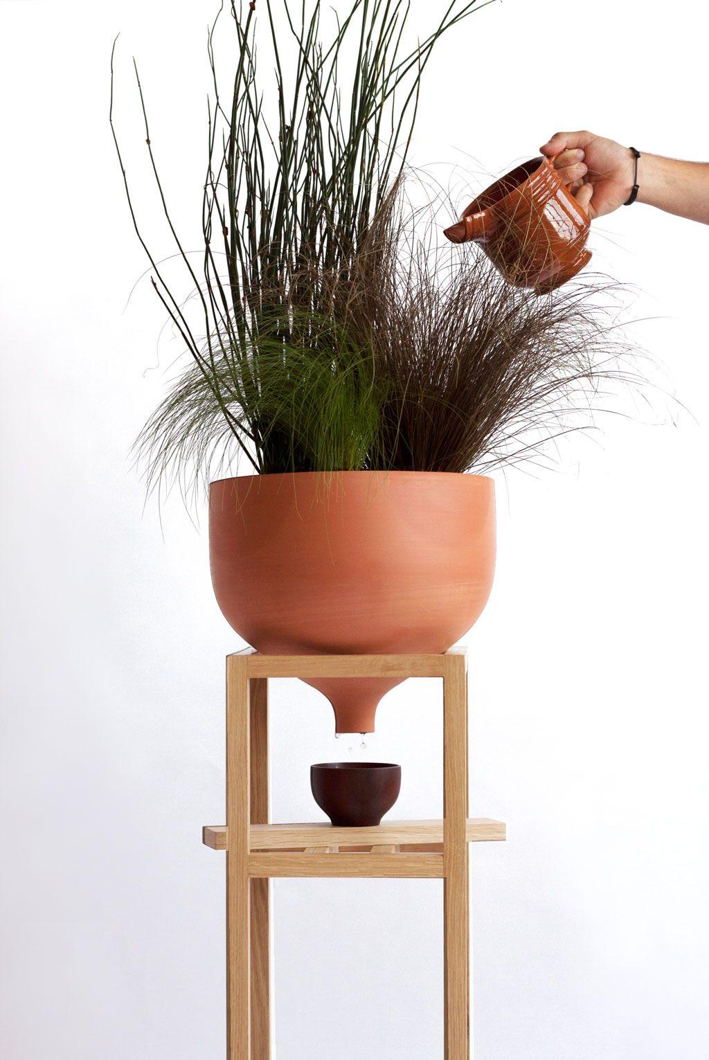 Ceramic Funnel Flower Pot Flower Pot Design Pot Designs Ceramics