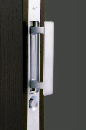 halliday baillie hb 682 pocket door flush edge pull