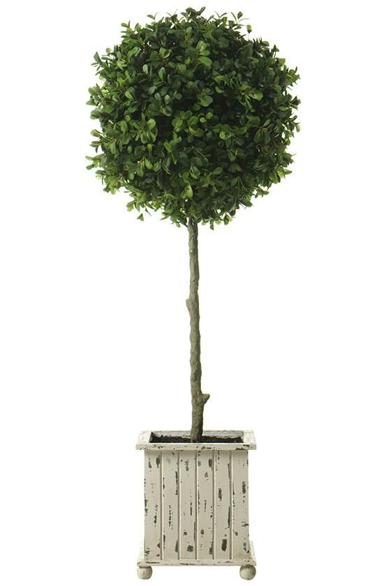 Boxwood Topiary Topiaries Artificial Planters Trees Homedecorators