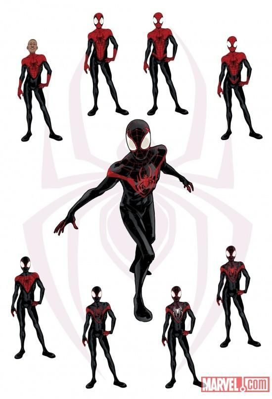 The Hero Complex Ultimate Spiderman Miles Spiderman Spiderman