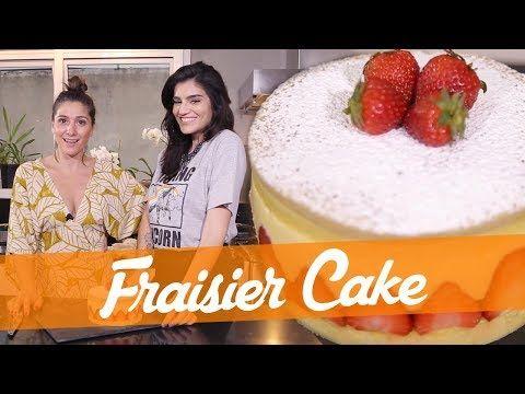 Fraisier Cake Receita Do Bake Off Brasil Youtube Com Imagens