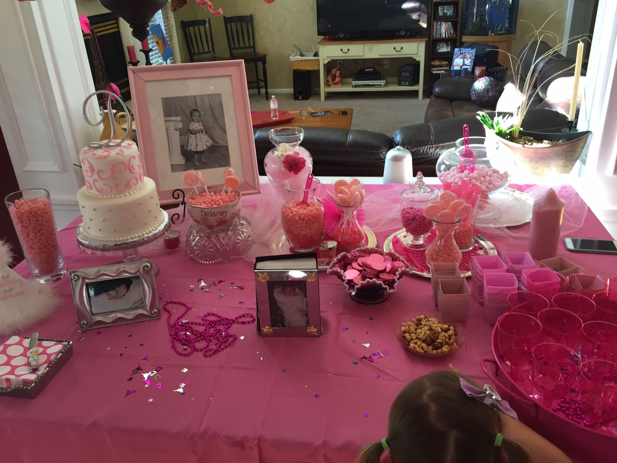 Sweets Table for Sweet 16