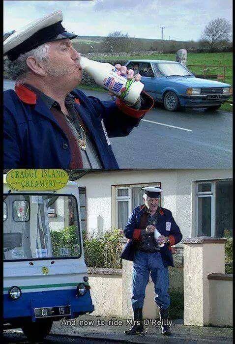 Pat Mustard milkman