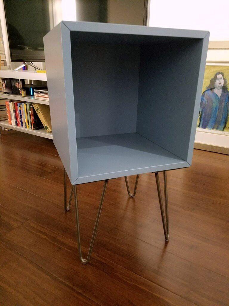Charmant Easy DIY Tutorial To Turn The EKET Cabinet Into A Nightstand Ikea  Furniture, Refurbished Furniture