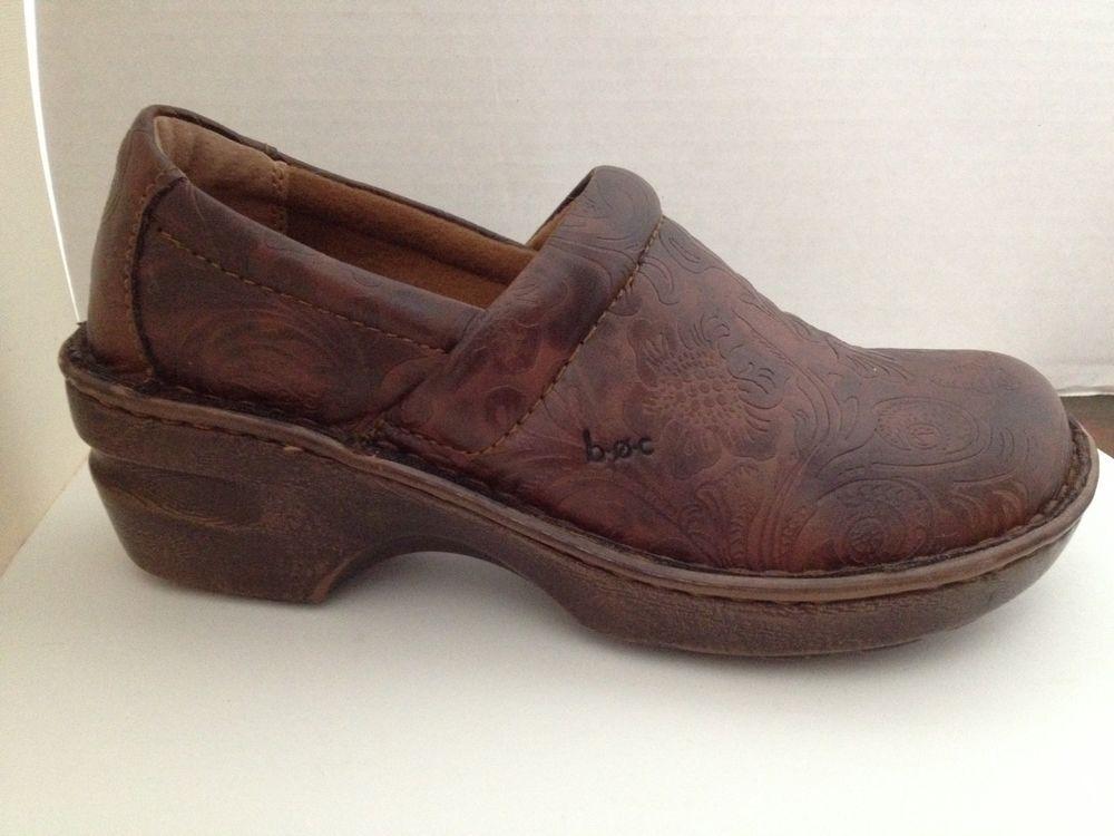 955f143ca963 BOC Born Concept Shoes Womens Size 7 M Brown Clogs 7M EU 38 ...