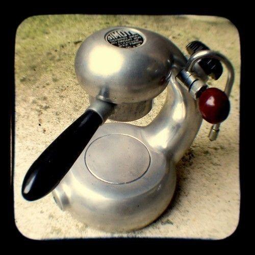 coffee photo print vintage mid century stove top atomic espresso