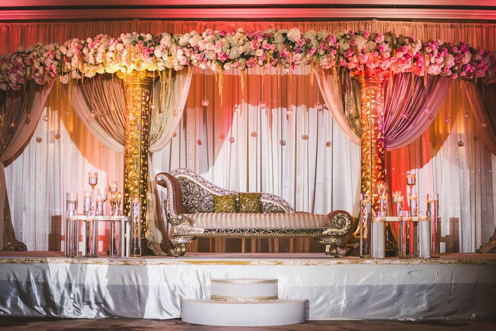 Soma Sengupta Indian Bridal Decoration Mandap