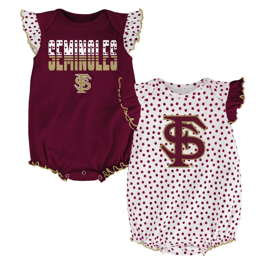 Colosseum Florida State Baby Girl Skirted Bodysuit