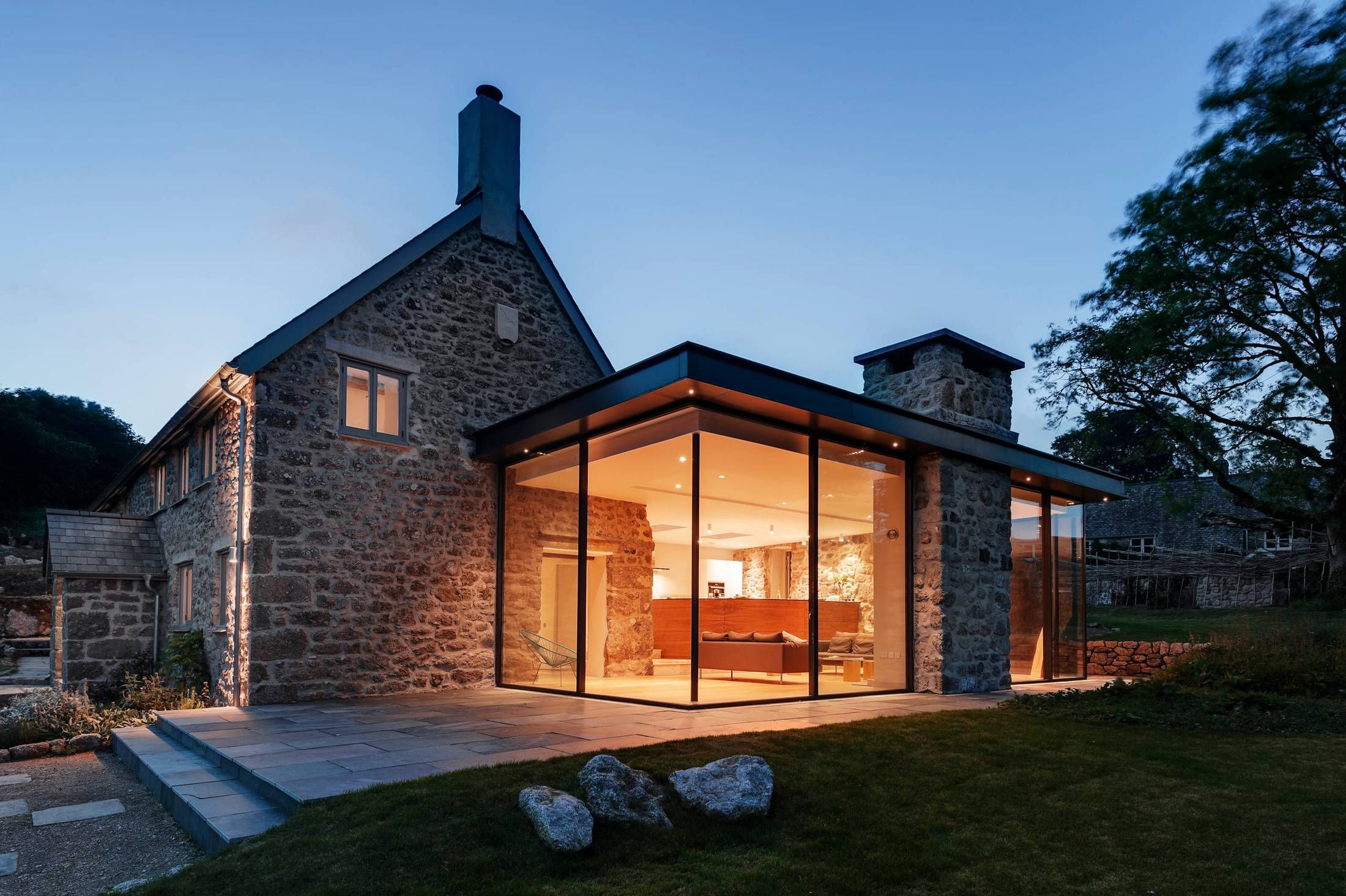 Attach a sunroom to old stone house usual house architecture