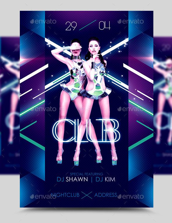 In Da Club Party Flyer Template PSD I have uploaded 3 images of ...