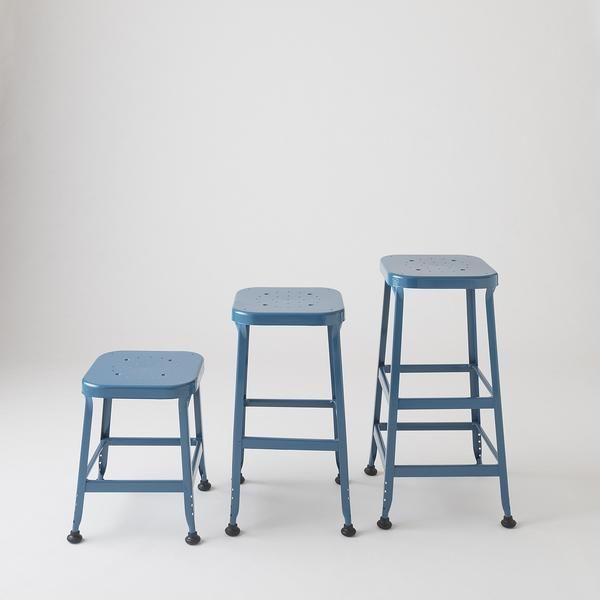 "utility stool 30""  steel stool oversized chair living"