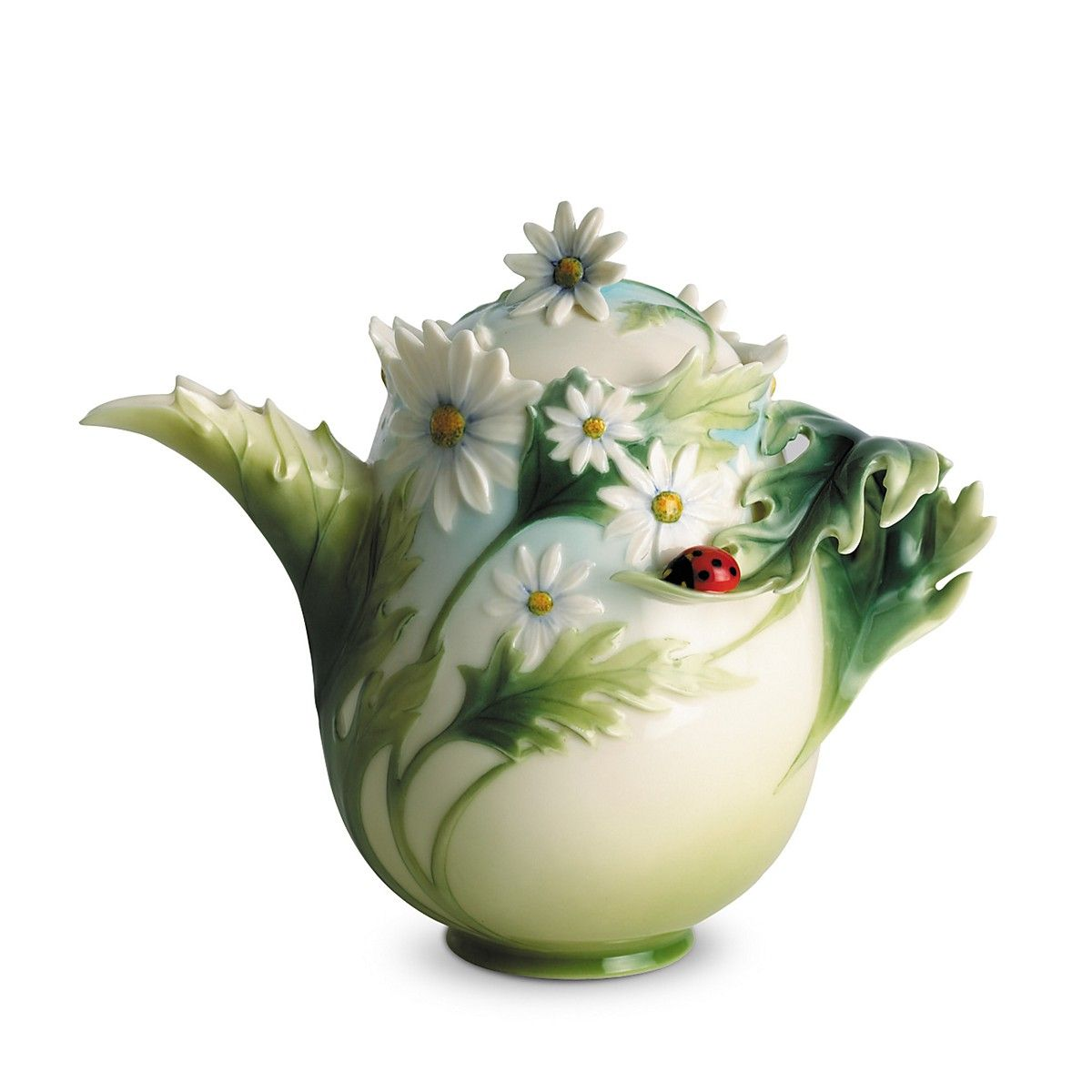 "Franz Collection Ladybug Teapot - Bloomingdale's - Porcelain - 7.25"" x 4.25"" x 6.25"". $195.00"