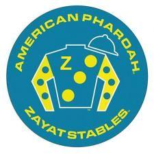 American Pharoah Silks Design Button- http://www.atasteofkentucky.com/shop/american-pharoah-silks-design-button-p-2063.html