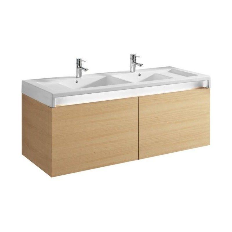 Mueble baño de 130 cm Stratum de Roca.: Mueble para baño ...