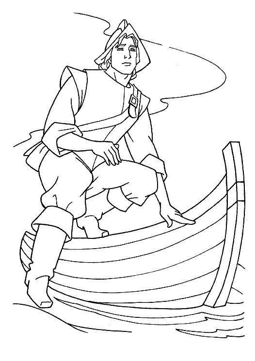 Tegninger til Farvelægning Pocahontas 5