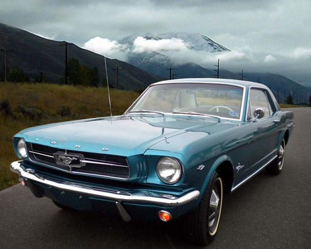 Hello Hello! 65 Mustang Coupe - My favorite.