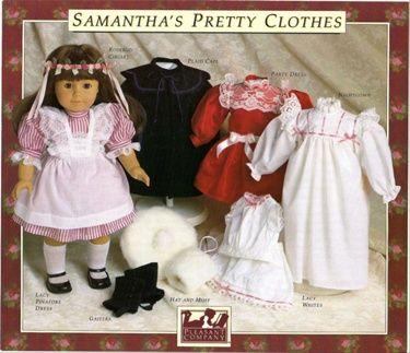 American Girl MINI 6 inch Meet Black Tights~Addy~Samantha~Historical Clothes~