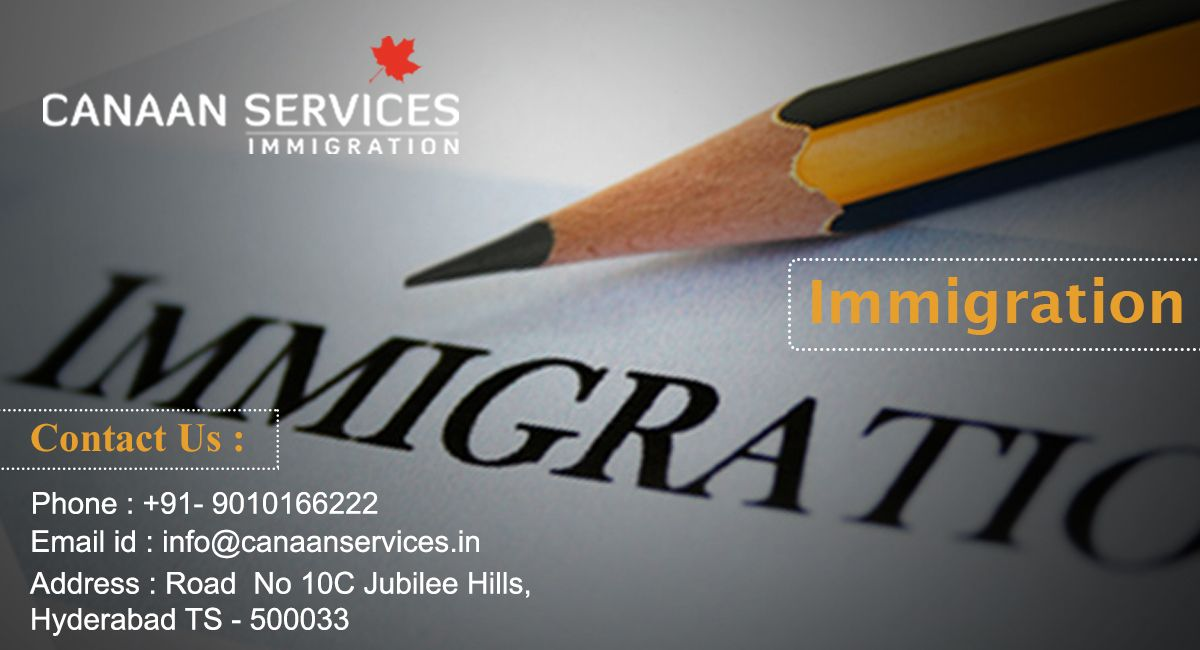 Canaan Services are specialized at processing immigration to