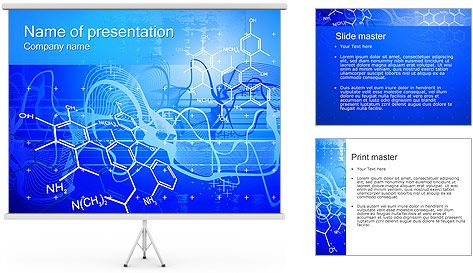 Chemical Formulas Powerpoint Template  Proyectos Que Intentar