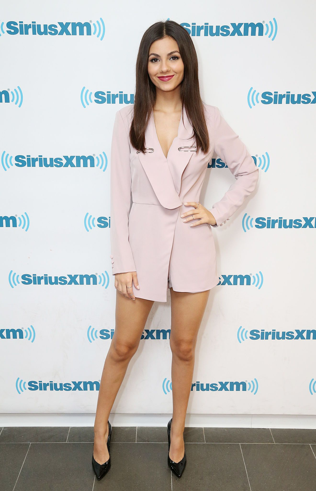 Victoria Justice - Visits SiriusXM Studio - NYC - October 19, 2016