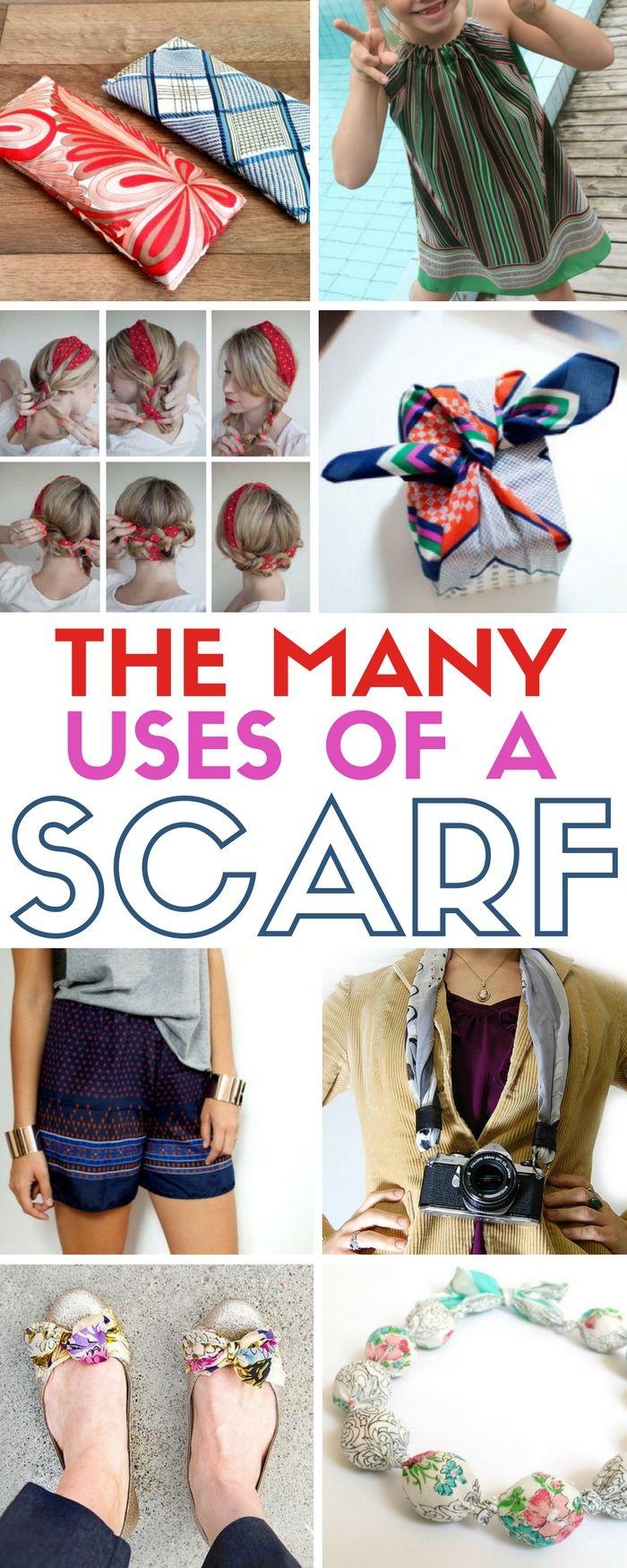 Scarf Craft Project Ideas Accessories Silk