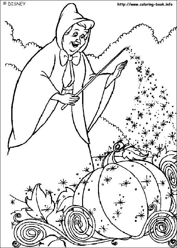 Cinderella Coloring Picture Cinderella Coloring Pages Disney Coloring Pages Disney Princess Coloring Pages