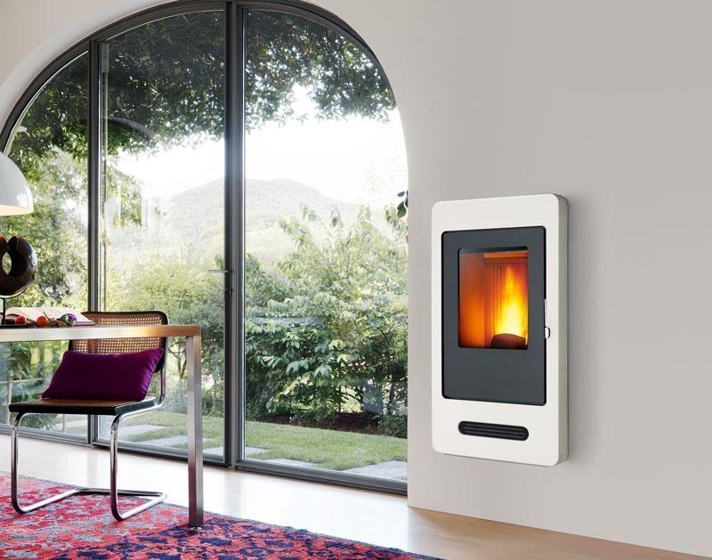 Piazzetta P938 Pellet Fireplace. www.calore.co.za | Modern ...