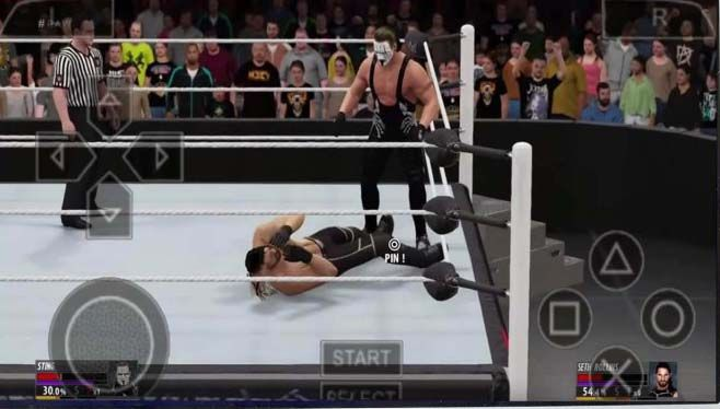 psp games download for android wwe